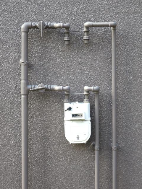 ガス配管引き直しについて